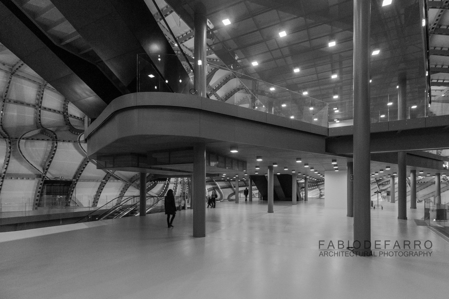 Convention Center - Rome The Cloud - Fuxas Studio - First level