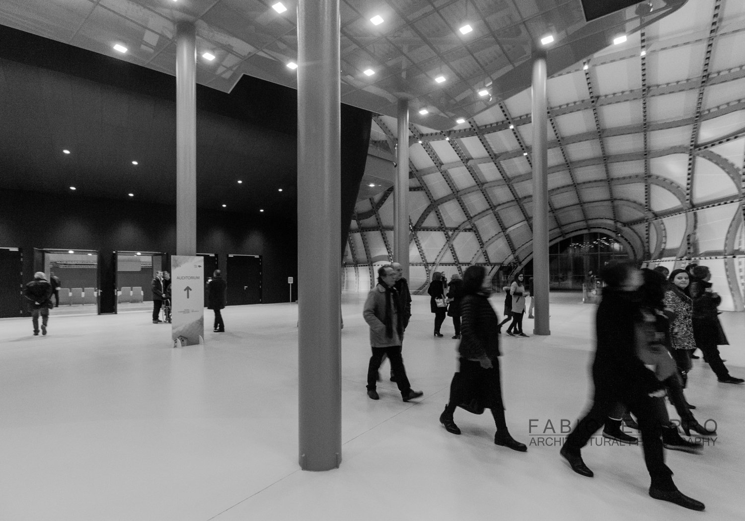 Convention Center - Rome The Cloud - Fuxas Studio - Auditorium Exit