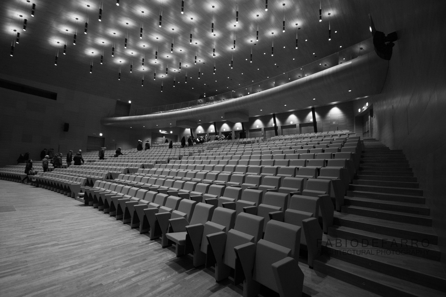 Convention Center - Rome The Cloud - Fuxas Studio - Auditorium