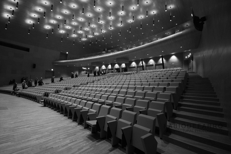 Convention Center - Rome The Cloud - Fuxas Studio - Auditorium