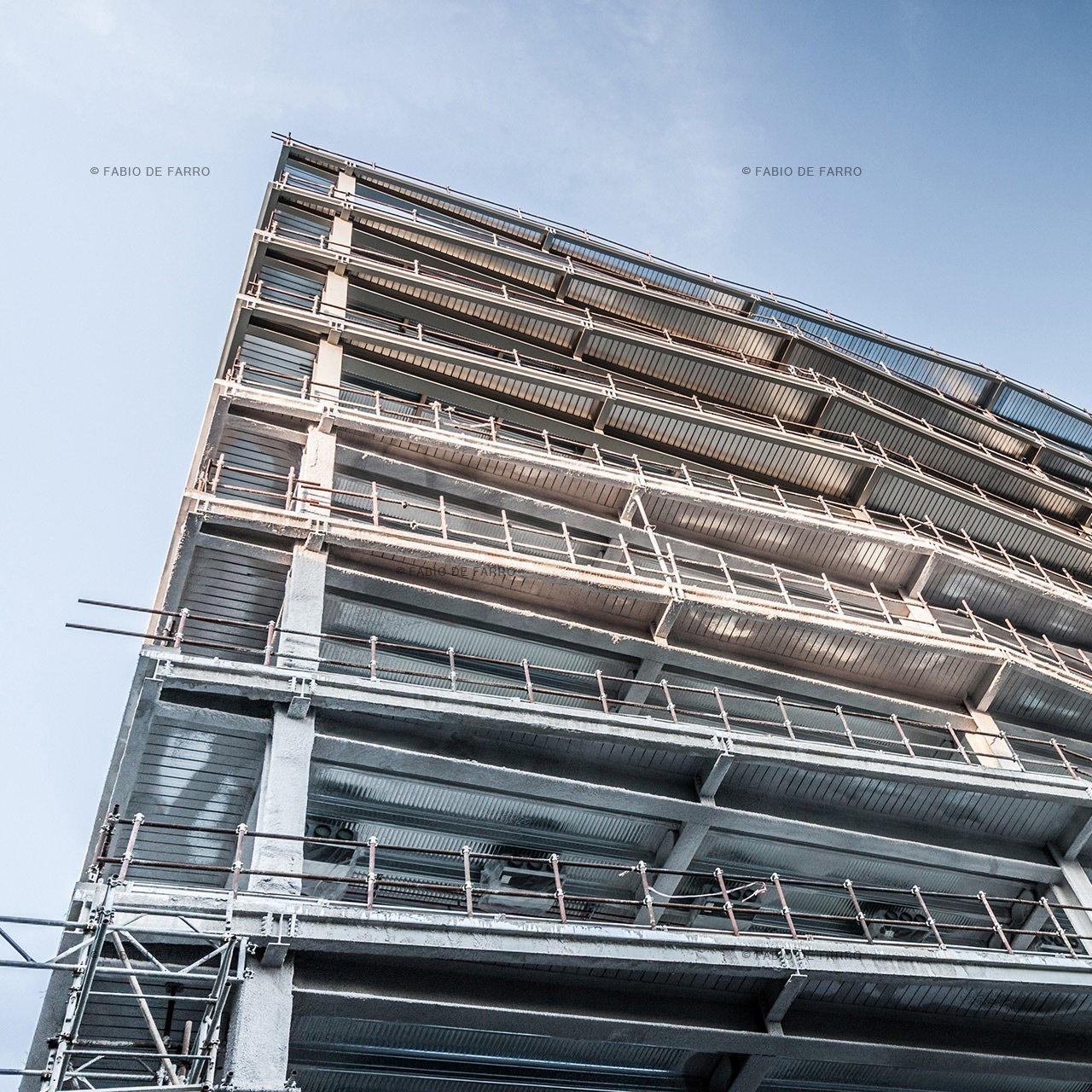 Construction Photography of Office Building - Rome Italy © Fabio De Farro